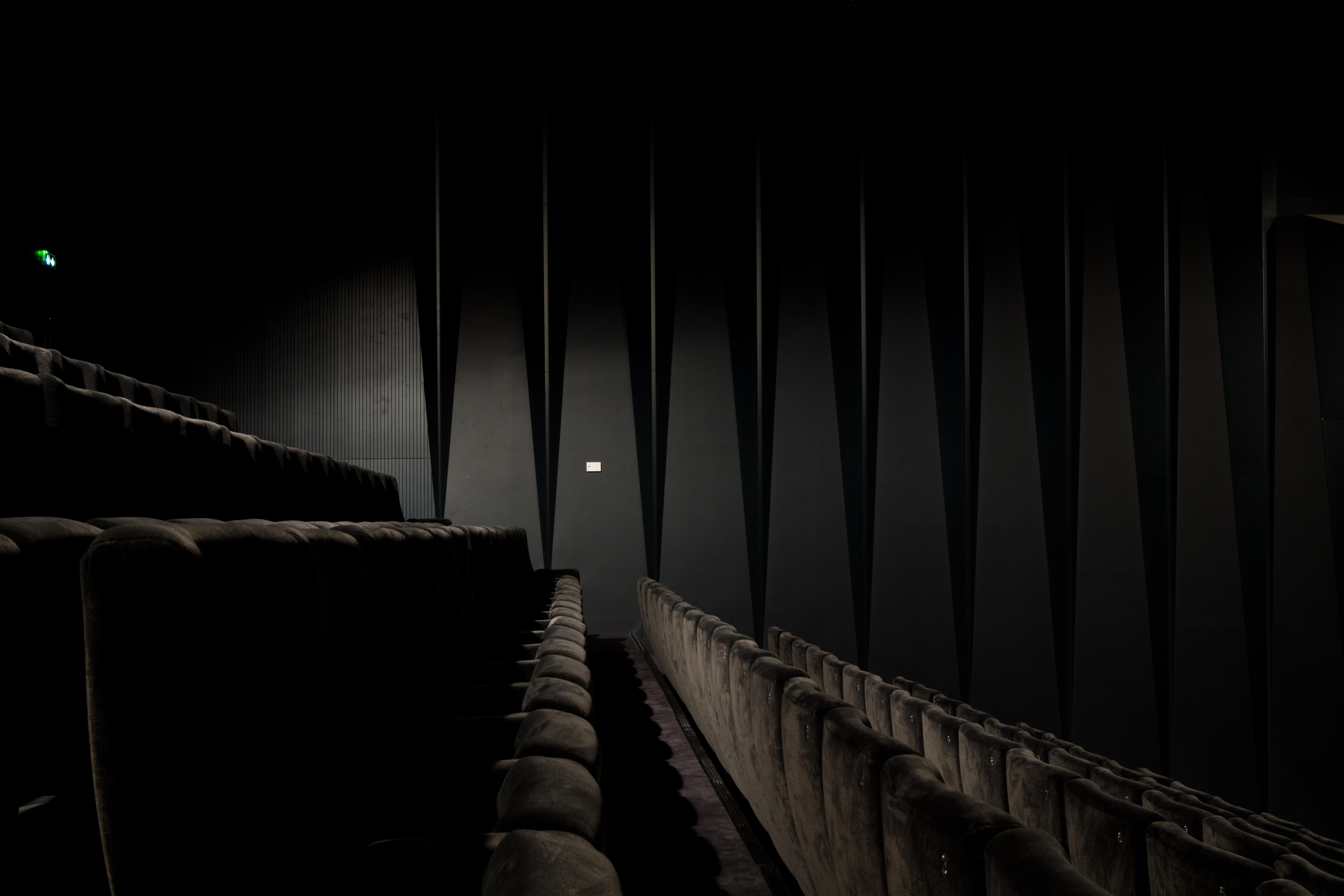 sièges et mur acoustique auditorium de rezé