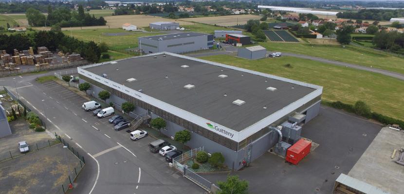 Bâtiment entreprise Guitteny Saint-Julien de Concelles