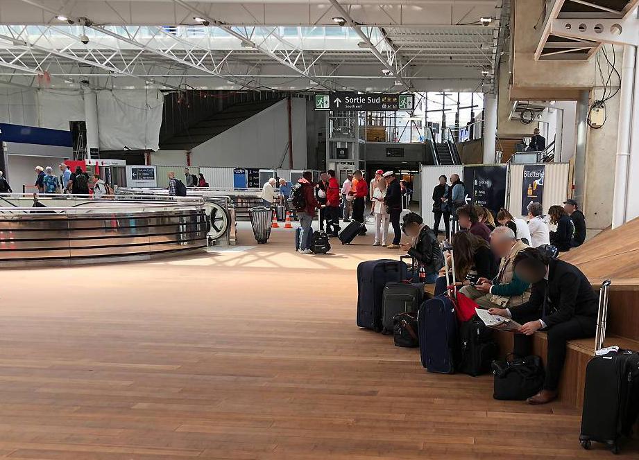 Parquet bambou gare de Rennes
