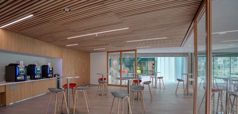 Plafond cafétaria K-Line