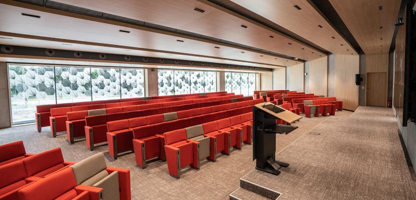 auditorium siège social K-Line