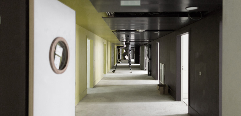 Installation plafond et portes technqiues