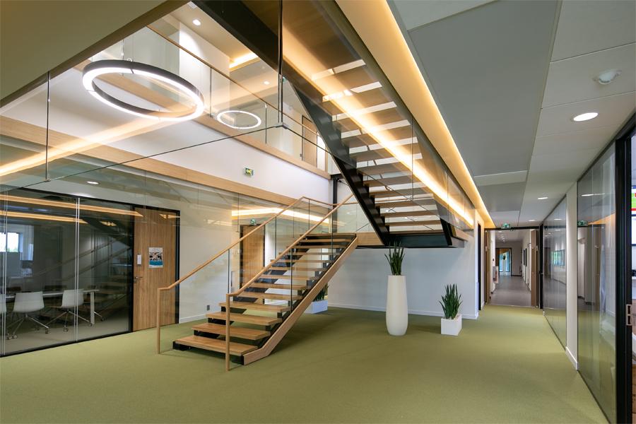 escalier agencement LNA Santé